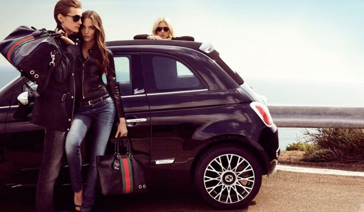 Like the MINI and the VW Käfer, FIAT's signature Cinquecento is more than a revival car: it's an invitation to join a trendy new movement. Brand extensions and collaborations help FIAT extend and fortify the Cinquecento's claims to fashion credibility and its status as an Italian classic  #CollaborationGeneration #brand #positioning #influence #fashionthinking