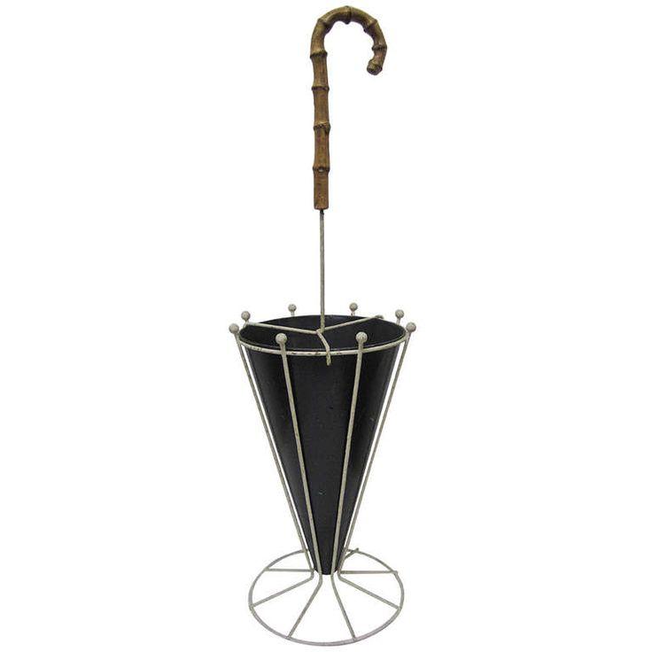 Mid Century Modern Umbrella Stand   Shapeyourminds.com