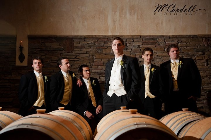 McCardell Photography did fabulous work for this wedding at Childress Vineyards!