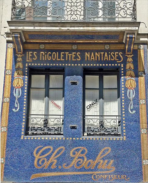 Les Rigolettes Nantaises, a long time confectioner in Nantes, France.... ᘡղbᘠ