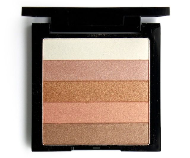 Revlon Highlighting Palette in Bronze Glow. A dupe for (and maybe even better than!) the Bobbi Brown shimmer brick yall!
