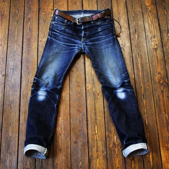 Iron Heart, worn for 373 days #rawdenim ⓀⒾⓃⒼⓈⓉⓊⒹⒾⓄⓌⓄⓇⓀⓈ