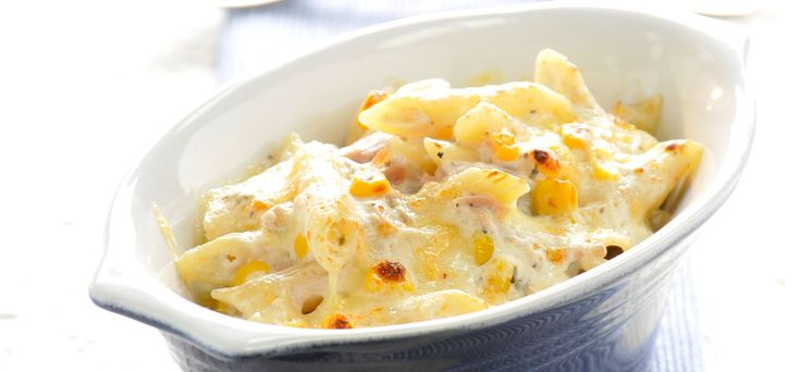 Philadelphia Philly Tuna and Sweetcorn Pasta Bake - simple and fast - just add a big green salad - lovely :)