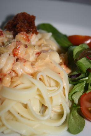 Pasta med kräftsås | Jennys Matblogg