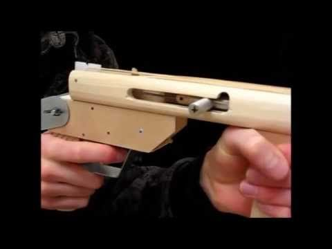 [rubber band gun] Bolt action rubber band gun                                                                                                                                                                                 More
