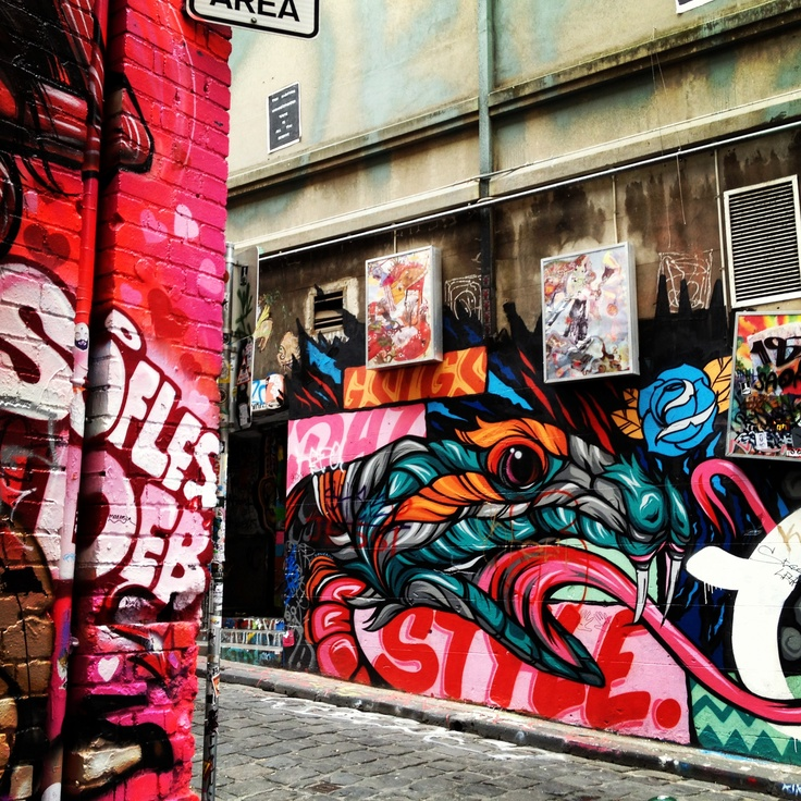 Explore the lane ways of #Melbourne, #Australia. #travel.