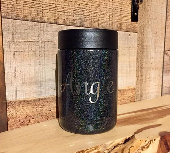 One RTIC 12 oz. can cooler with your choice of powder coat color finish. These can coolers are no longer available from RTIC, so when they sell out they are gone! Well add vinyl monograms or lettering for FREE, and we only use commercial grade outdoor vinyl. Just send us a note with