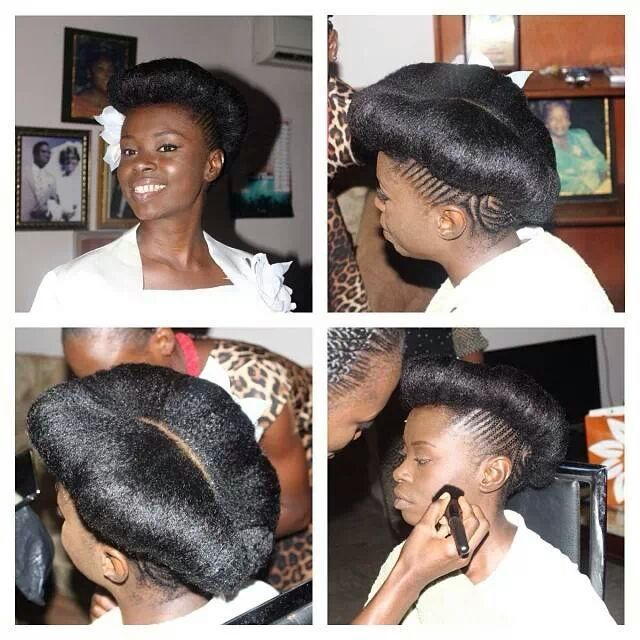 Loveafrohair Very Pretty Style From Onaturals Beauty Salon In