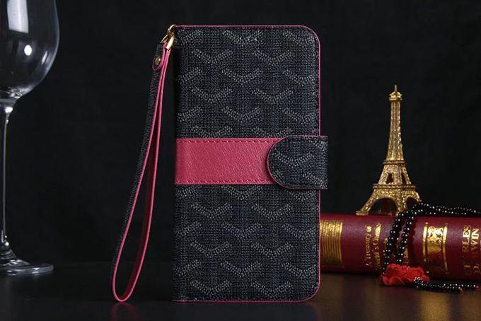 Goyard Samsung Galxy S6 Cases Wallet Black :: Goyard Galxy S6 Cases Covers Sleeve Coque Fundas Capa Para