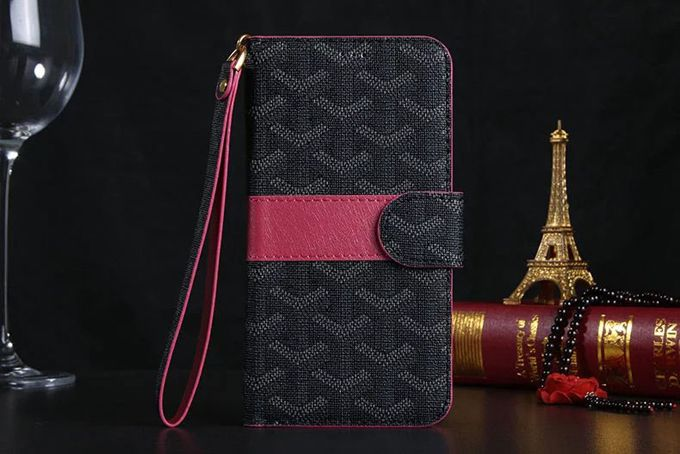 Goyard Samsung Galxy S6 Cases Wallet Black :: Goyard Galxy S6 Cases Covers Sleeve Coque Fundas Capa Para