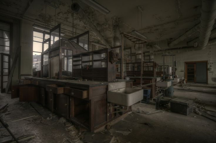 Abandoned laboratory (explore)