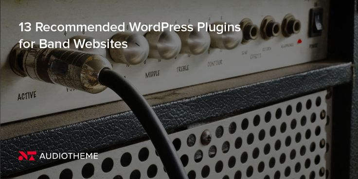 13 Recommended WordPress Plugins for Band Websites