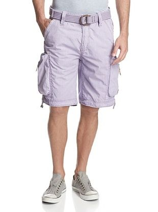 61% OFF Jet Lag Men's Melbourne Cargo Short (Light Purple)