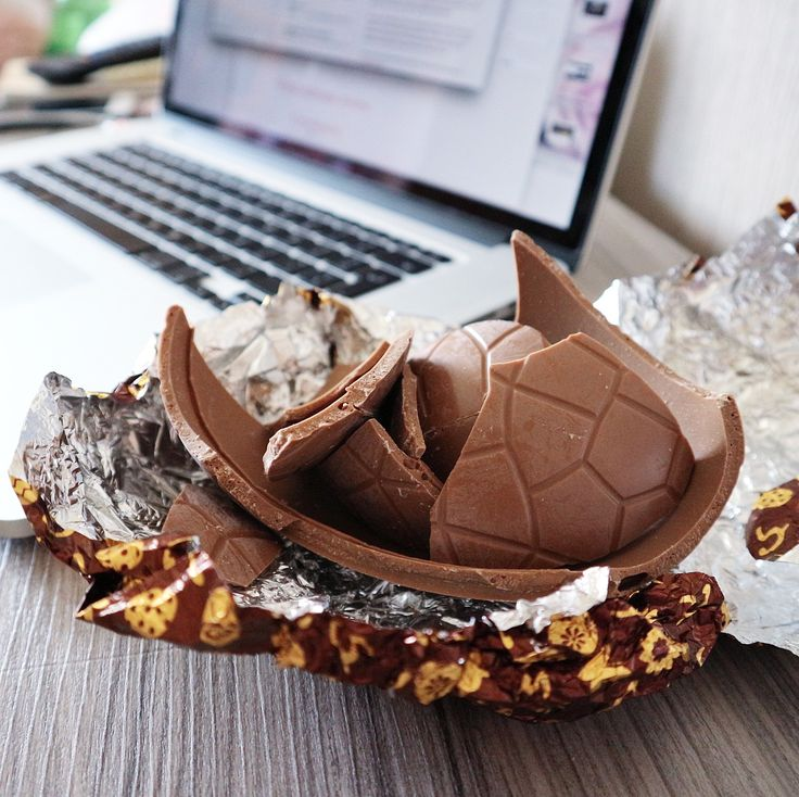 Galaxy chocolate Easter egg