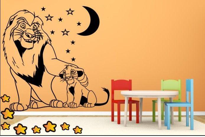 Buenos días para todos, os queremos mostrar un precioso vinilo infantil de la famosa película del rey león. Original decoración para habitaciones de infantiles, guarderías o espacios de juego. ¡Esperamos os guste y Que tengáis una mágica noche de San Juan! http://www.vinilosinfantiles.com/vinilo-el-rey-leon-y-simba-v2134