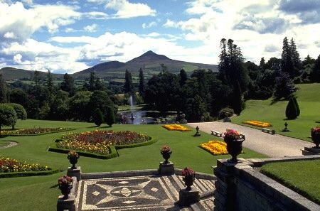 Powerscourt Gardens, Wicklow, Ireland