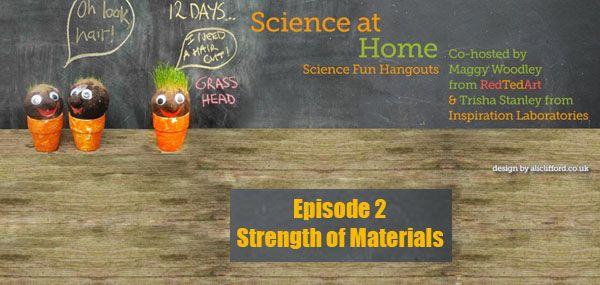 Science at Home - Episode 2: Strength of Materials -- 4 easy examples of bridges to build with kids and a challenge to build your own bridge!