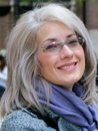 what color frames go with gray hair - Google Search