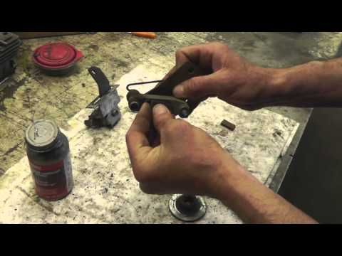 How To Fix or Repair Stuck Brakes on a Riding Lawn Mower - With Taryl