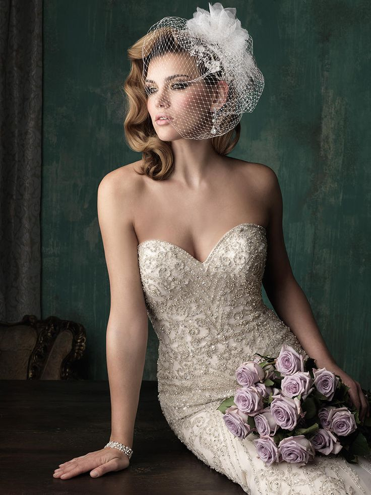 36 best Wedding Dresses with Crystals images on Pinterest | Short ...