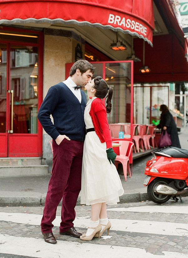 An Amelie and 1950s Inspired Parisian Bride  bestdayproduction..., shoot curated by flyawaybride.com/