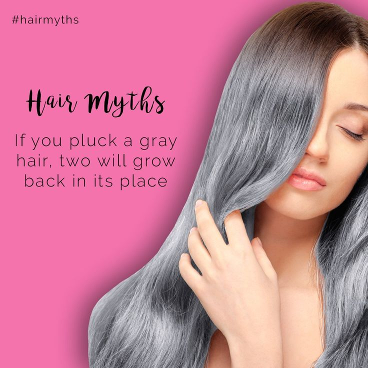 Plucking your hair can destroy the follicle, damaging your scalp and your hair texture, eventually leading to bald patches.