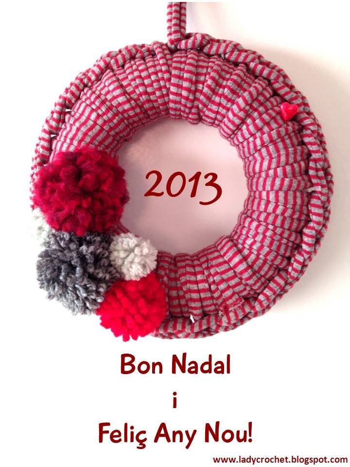 lady crochet feliz navidad