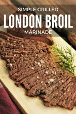 Grilled London Broil Marinade