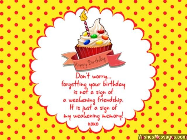 15 best Belated Birthday Late Birthday Wishes Messages and Poems – Birthday Greeting Poems