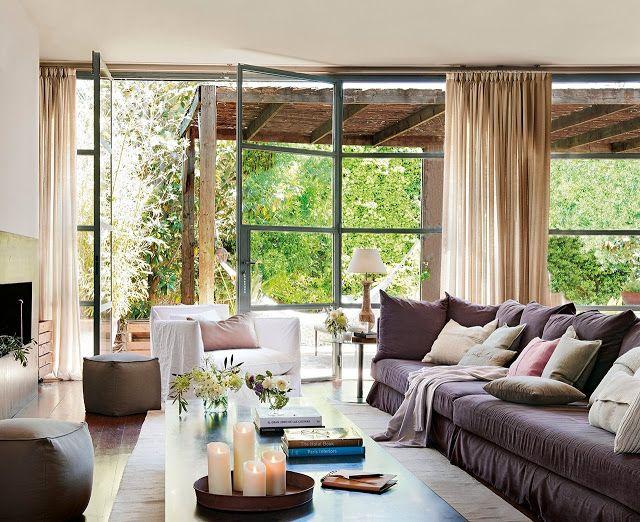 Une maison de campagne en espagne planete deco a homes for Decoration espagnole maison