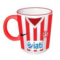 Antalya spor kırmızı saplı kupa bardak seri
