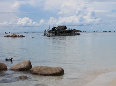 Kelong in Bintan
