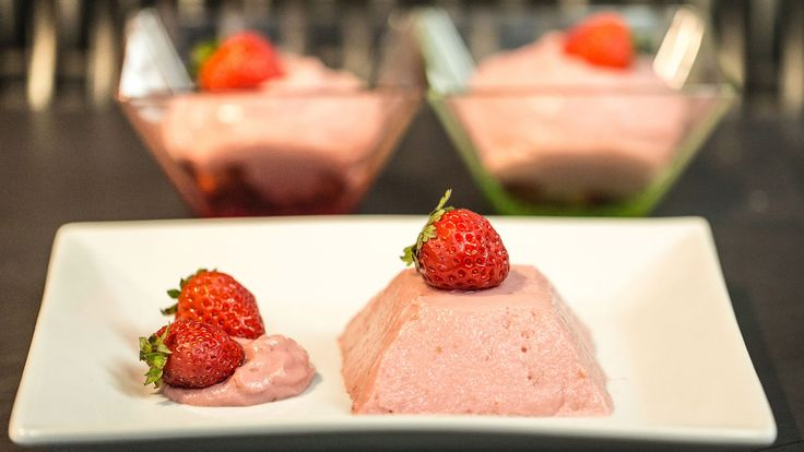 Mousse alle Fragole Vegan