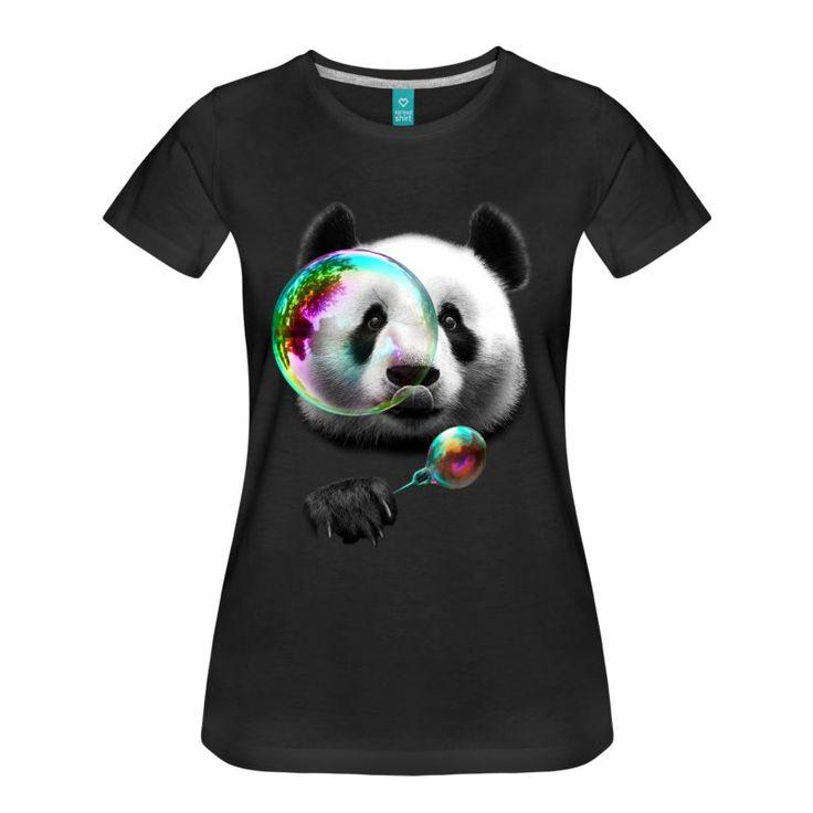 Svart  T-skjorter - Premium T-skjorte for kvinner