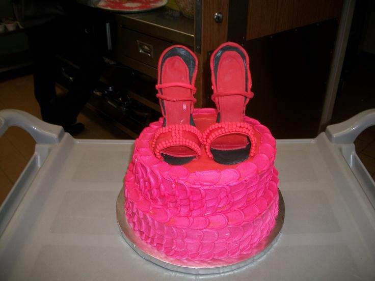 High Heel Cake - Shoe Cake