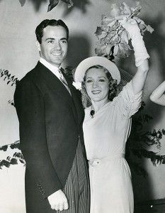 Buddy Rogers and Mary Pickford, June 24, 1937 until her death in 1979.-------------42 yrs