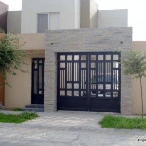 Puerta de cochera contemporánea