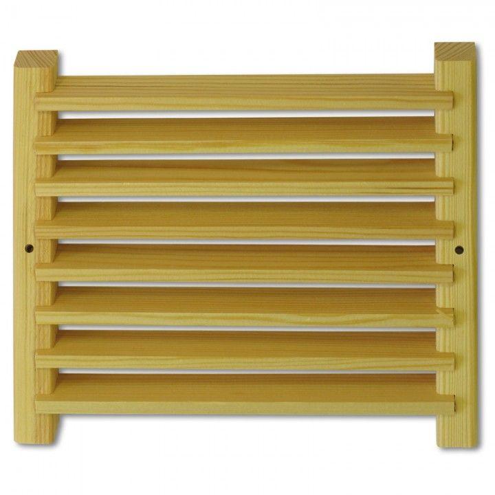 Bildresultat för ventilationsgaller trä