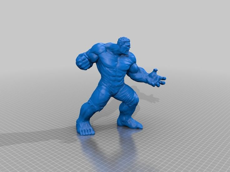 I saw these incredible (pun intended) 3D scans of parts of a Hulk figurine. I just had to combine them into one model and sculpt it to hide the seams! Thanks to Sixfeet who scanned this awesome model.   I used VisCAM to edit and combine the parts and MeshMixer to edit and sculpt the model with different brushes. I made a plane cut on the bottom (feet) for stability while/after printing. http://www.3dwp.nl