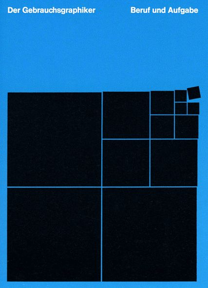 Brochure jacket designed by Anton Stankowski for BDG 1959. From...