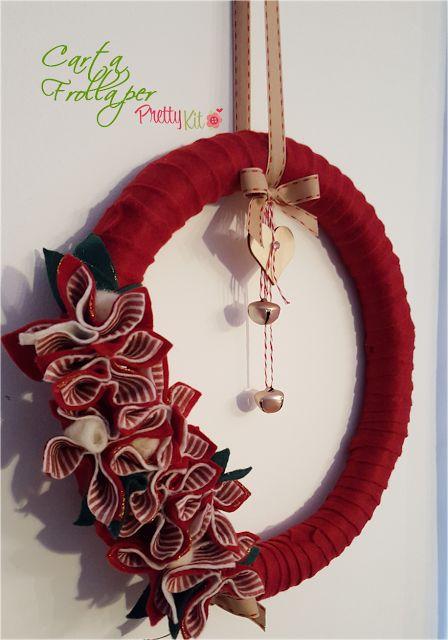 Oltre 1000 idee su porta natalizia su pinterest - Ghirlande per porte natalizie ...