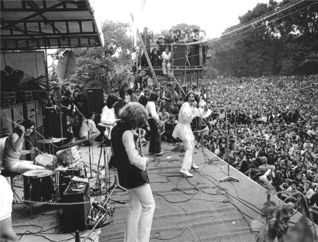 The Rolling Stones,free Concert Hyde Park 1969