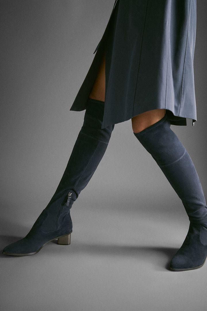 Este año las botas altas están arrasando. Han estado presentes entre los desfiles más importantes y las influencers no dudan en lucirlas.