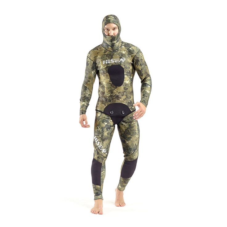 SEAC 7mm Professional Winter Warm Wetsuit Men's Long Sleeve Neoprene Diving Suit Rash Guards Fishing Suit Jellyfish Clothes