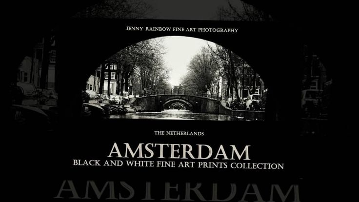 Amsterdam. Black and White by Jenny Rainbow Fine Art Photography