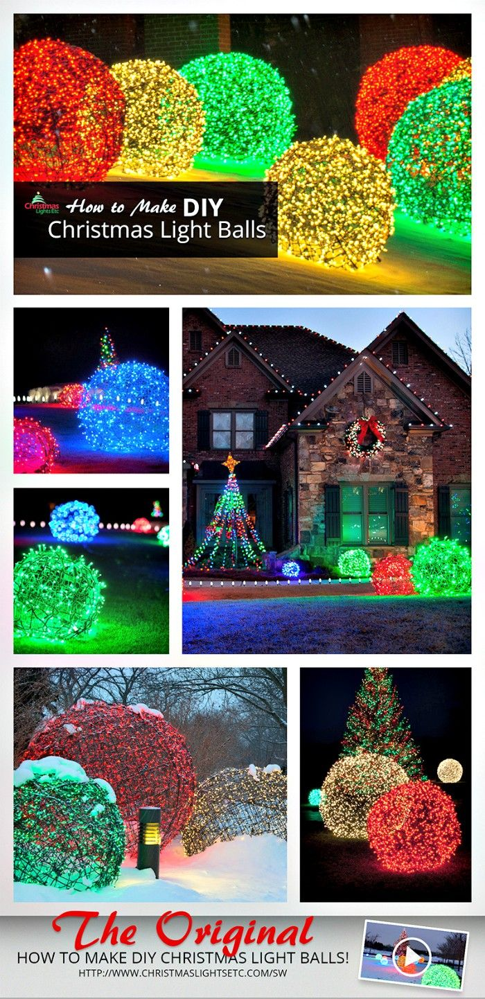 21 Cheap Diy Outdoor Christmas Decorations Christmas Diy