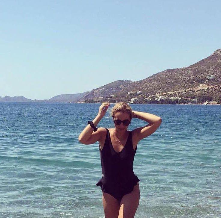 "Jenny Melita wear the ""Venise"" black #pcpswimwear #pcpclothing #pcpinia #pcp #theoriginal"