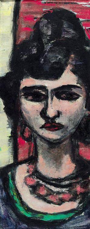 MAX BECKMANN (1884-1950) - ITALIENERIN
