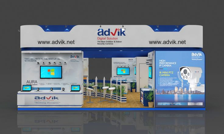 """Calls on taking #security to the next level with Advik Compware Pvt. Ltd. Advik comes up with a unique slogan """"The All Round Performer"""" the booth designed to attract many customers dedicating the line of sale to the new release products."""