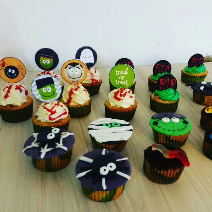 Halloween❤  #CupcakesHalloween #CupcakesDulcycandy  @Dulcycandy muyy tenebroosoo